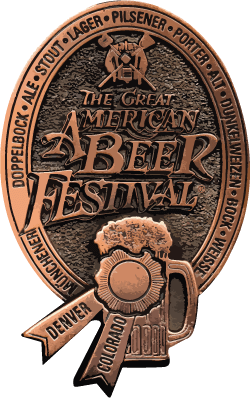 Great American Beer Festival Bronze Medal